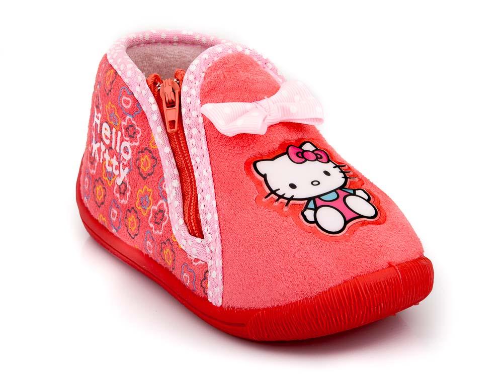 Κοριτσίστικα κλειστά παντοφλάκια HELLO KITTY DISNEY TZ - HK 003273