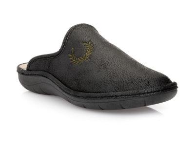 Ανδρικές χειμερινές παντόφλες PAREX SM 17929. BLACK