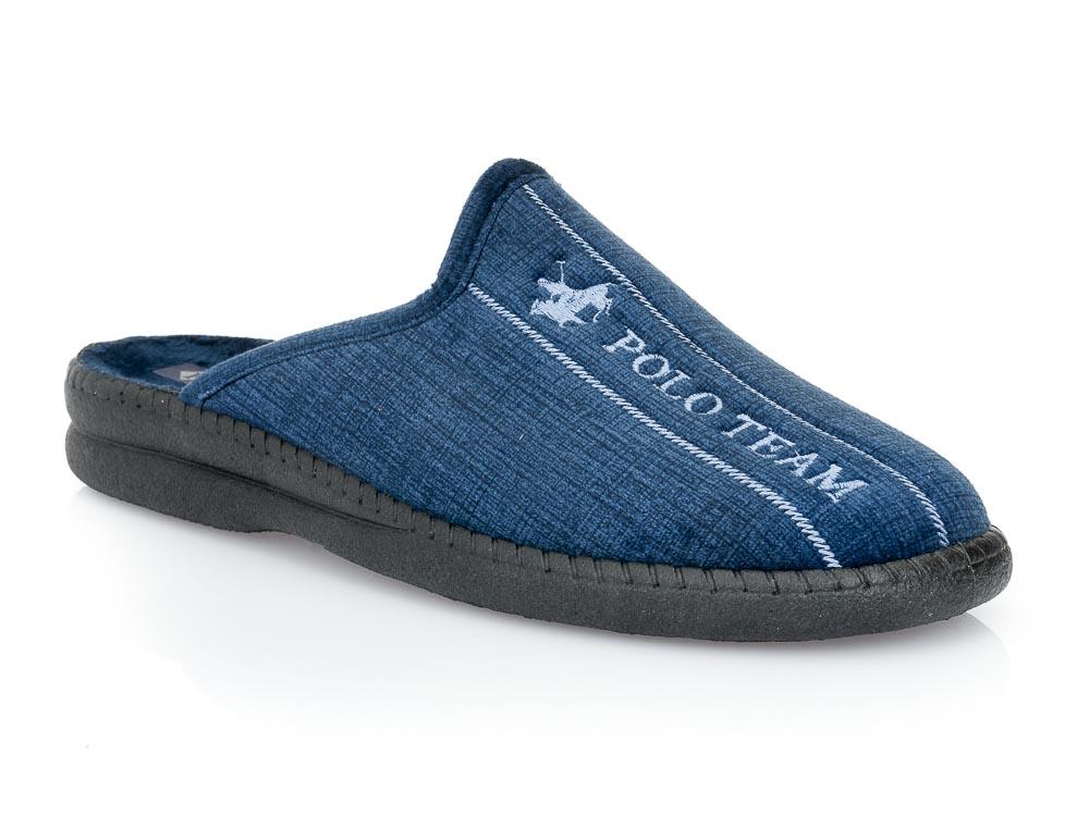 Ανδρικές χειμερινές παντόφλες FAME NL 1237. BLUE