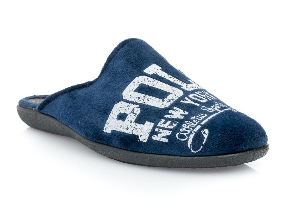 Ανδρικές χειμερινές παντόφλες FAME NL 1241. BLUE
