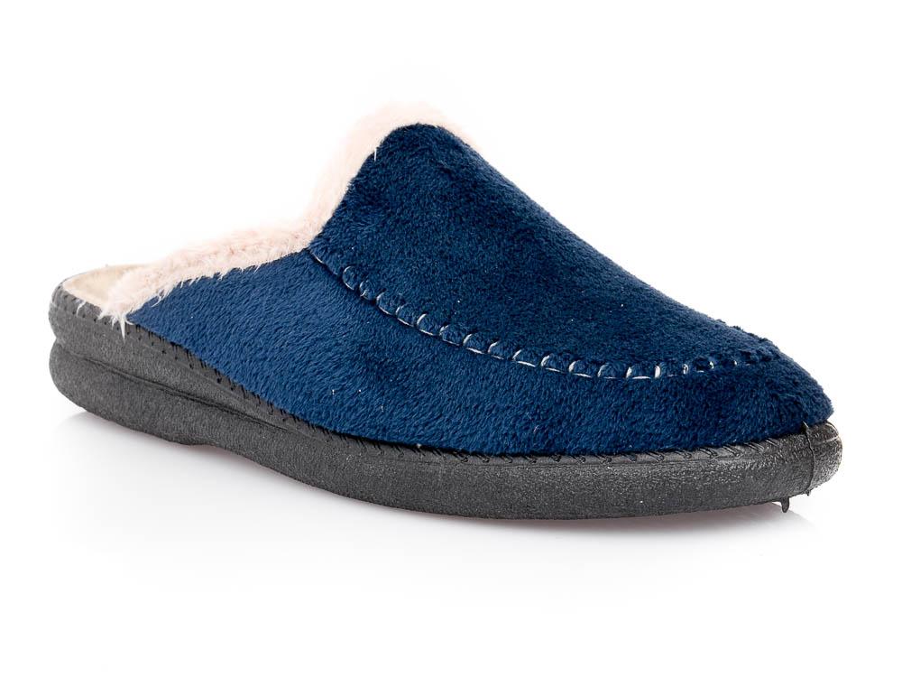 Γυναικείες χειμερινές παντόφλες ΥΦΑΝΤΙΔΗΣ C 4624 P. BLUE