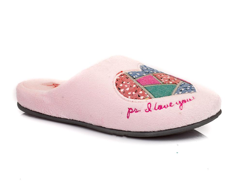 Γυναικεία χειμερινή παντόφλα PAREX TW 17712. PINK