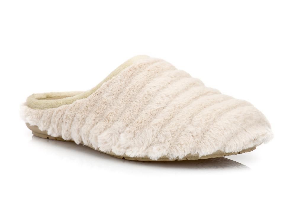 Γυναικείες χειμερινές υφασμάτινες παντόφλες ΥΦΑΝΤΙΔΗΣ 232. BEIGE