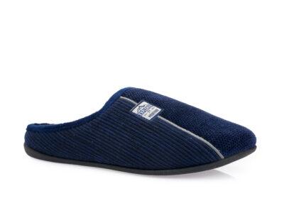 Ανδρικές χειμερινές παντόφλες PAREX 10122093 BLUE