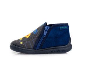 Αγορίστικα ανατομικά χειμερινά παντοφλάκια MINIMAX PAC 2 BLUE