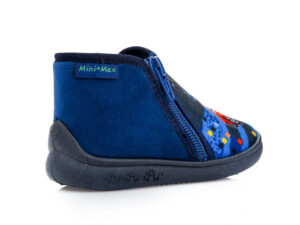 Αγορίστικα ανατομικά χειμερινά παντοφλάκια MINIMAX SPEED BLUE