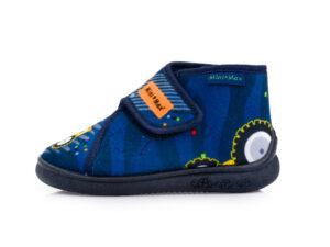 Αγορίστικα ανατομικά χειμερινά παντοφλάκια MINIMAX V ROAD BLUE