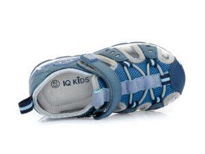 Αγορίστικα ανατομικά καλοκαιρινά παπουτσοπέδιλα IQ KIDS ARDEN-140 NAVY