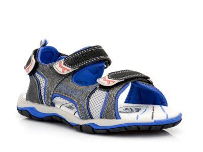 Αγορίστικα ανατομικά πέδιλα IQ KIDS BOSTON-120 BLUE