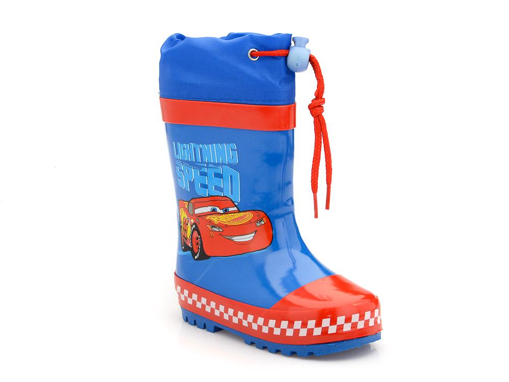 Αγορίστικα γαλοτσάκια McQueen DISNEY CR 000568 BLUE