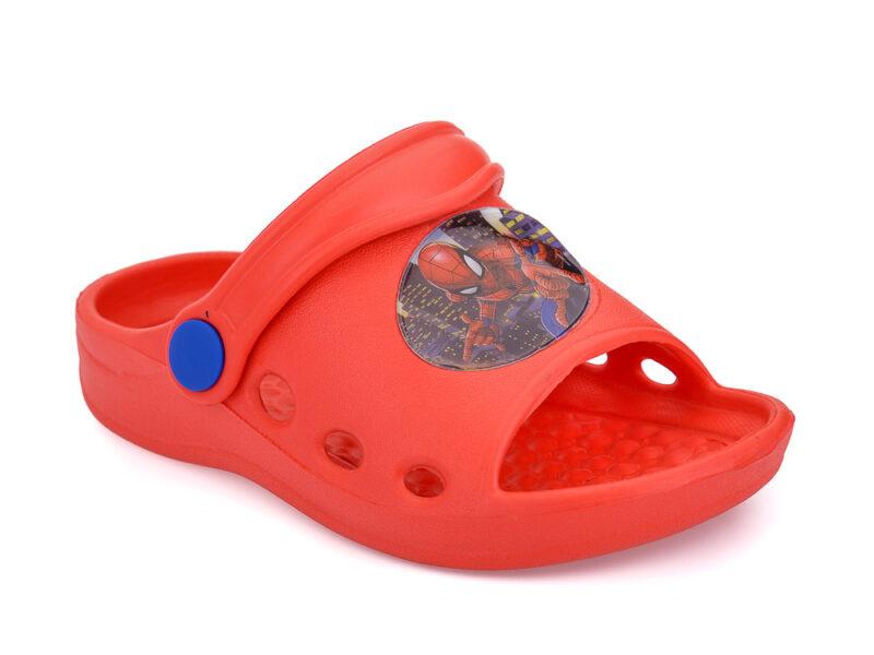 Αγορίστικα παντοφλάκια θαλάσσης SPIDERMAN DISNEY R 1310157 S RED