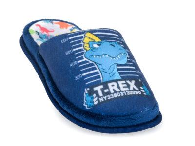Αγορίστικες ανατομικές χειμερινές παντόφλες PAREX 10124095 BLUE
