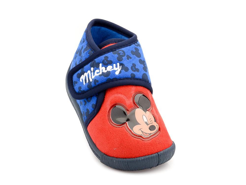 Αγορίστικο κλειστό παντοφλάκι Mickey DISNEY MK 000703 RED - Vip ... 8d8e453a817