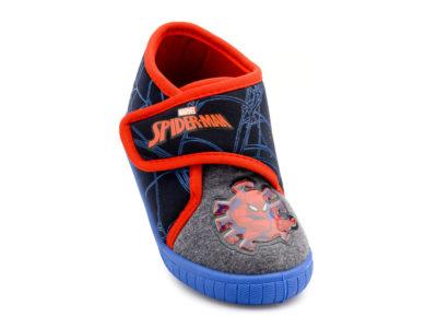 Αγορίστικο κλειστό παντοφλάκι Spiderman DISNEY SP 006393 BLUE