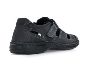 Ανδρικά καλοκαιρινά δερμάτινα παπουτσοπέδιλα GALE 315145 BLUE