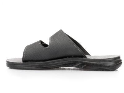 Ανδρικές ανατομικές παντόφλες εξόδου BELLA A 73. BLACK