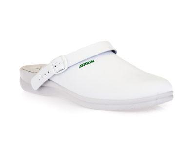 Ανδρικές ανατομικές παντόφλες σαμπό ANTRIN 8605.12 WHITE
