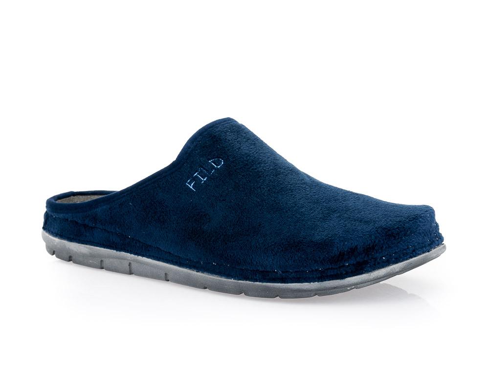Ανδρικές χειμερινές ανατιμικές παντόφλες FILD ETTORE 01 BLUE