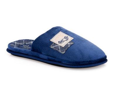 Ανδρικές χειμερινές ανατομικές παντόφλες PAREX 10118120 BLUE