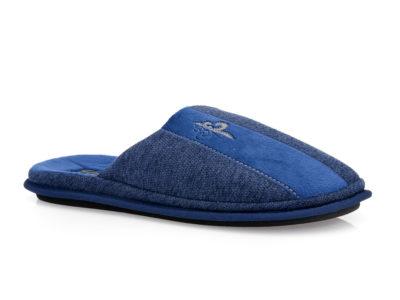 Ανδρικές χειμερινές ανατομικές παντόφλες PAREX 10118124 BLUE