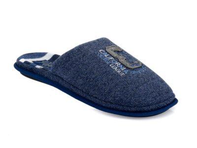Ανδρικές χειμερινές ανατομικές παντόφλες PAREX 10120024 BLUE