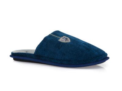 Ανδρικές χειμερινές ανατομικές παντόφλες PAREX 10122021 BLUE