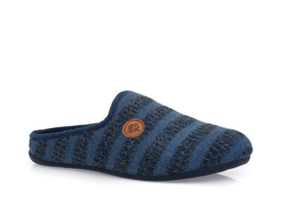 Ανδρικές χειμερινές παντόφλες B-SOFT 215759 BLUE