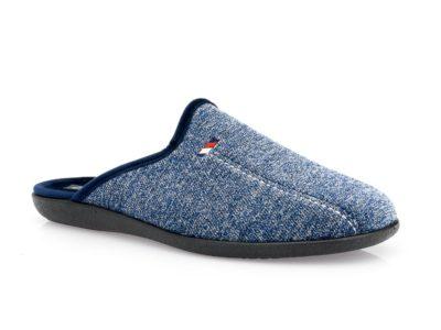 Ανδρικές χειμερινές παντόφλες FAME NL 1258 BLUE