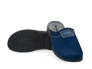 Ανδρικές χειμερινές παντόφλες INBLU PO 065 BLUE