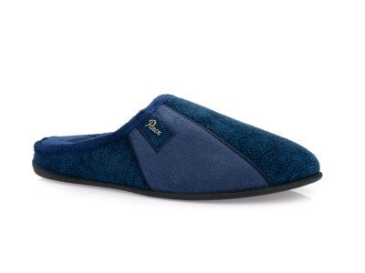 Ανδρικές χειμερινές παντόφλες PAREX 10120101 BLUE