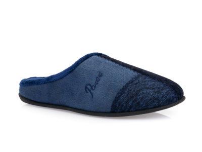 Ανδρικές χειμερινές παντόφλες PAREX 10120102 BLUE