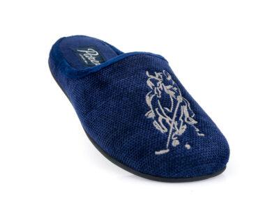 Ανδρικές χειμερινές παντόφλες PAREX 10122094 BLUE