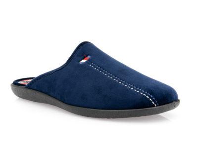 Ανδρικές χειμερινές παντόφλες SABINO L 30-4724 BLUE