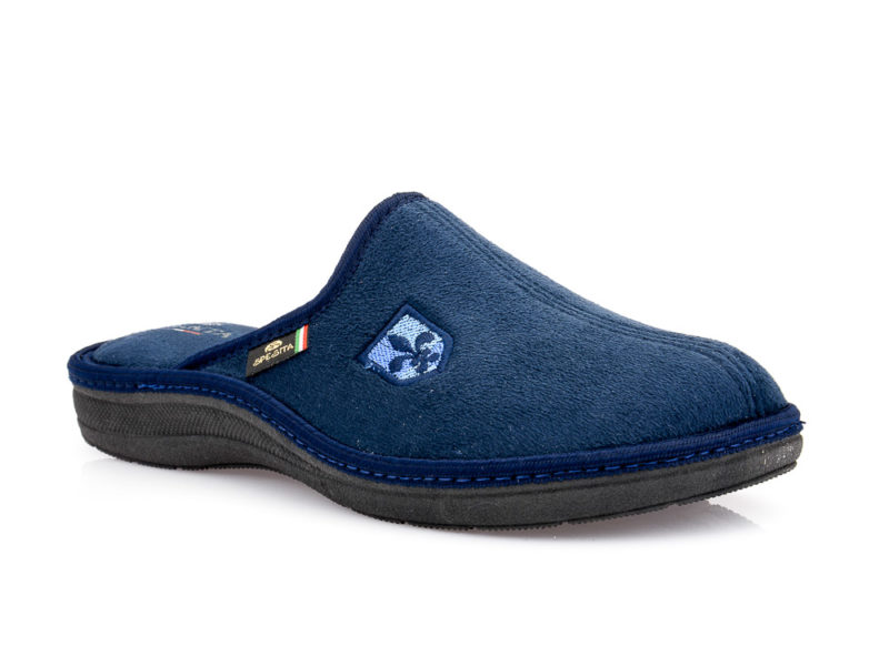 Ανδρικές χειμερινές παντόφλες SPESITA 397 BLUE