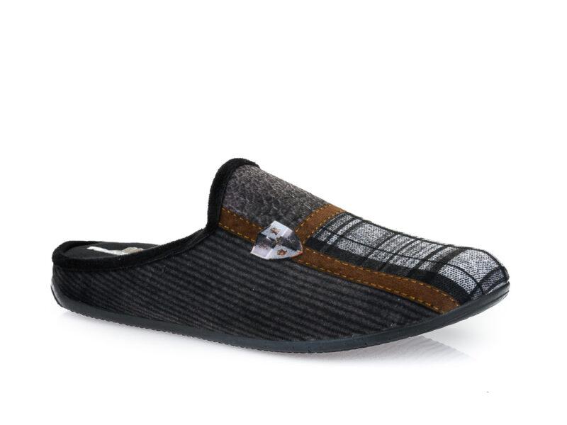 Ανδρικές χειμερινές παντόφλες ΥΦΑΝΤΙΔΗΣ 4017 BLACK