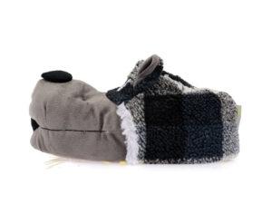 Ανδρικές χειμερινές παντόφλες ζωάκια DE FONSECA DE TEVERE M 521 GREY