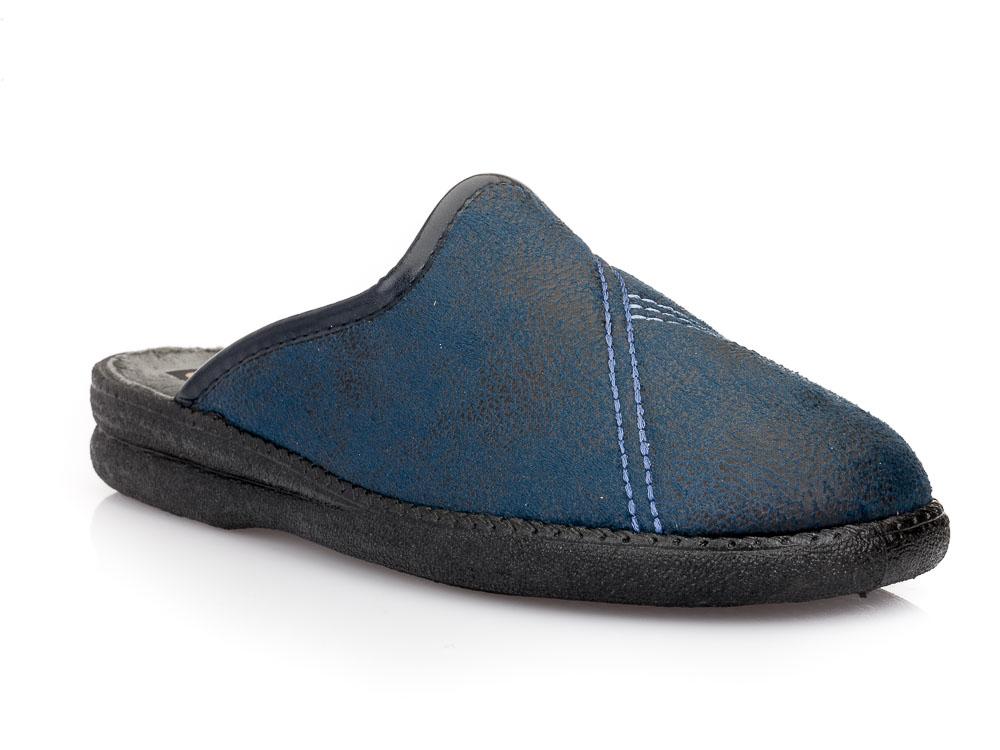 Ανδρικές χειμερινές παντόφλες SABINO E 24624. BLUE