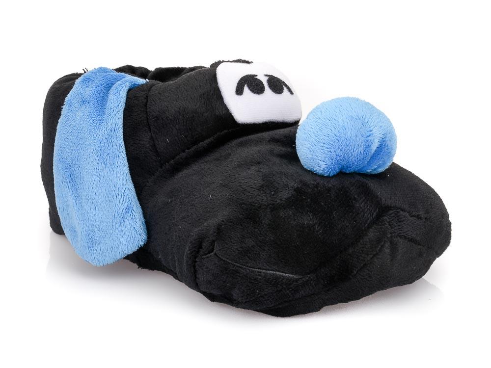 Ανδρικές χειμερινές παντόφλες ζωάκια DEFONSECA TOBALDO. BLACK