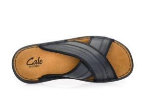 Ανδρικές καλοκαιρινές ανατομικές παντόφλες εξόδου GALE 365061 BLACK