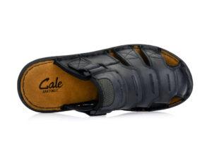 Ανδρικές καλοκαιρινές ανατομικές παντόφλες εξόδου GALE 365064 BLACK