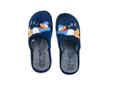Εφηβικές ανατομικές χειμερινές παντόφλες DONALD PAREX 10122182 BLUE