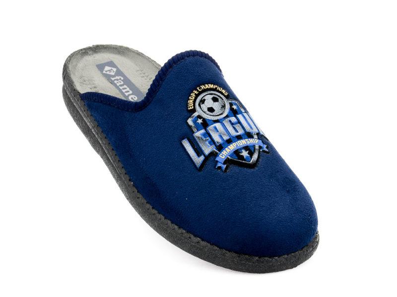 Εφηβικές χειμερινές παντόφλες FAME NL 1477 BLUE