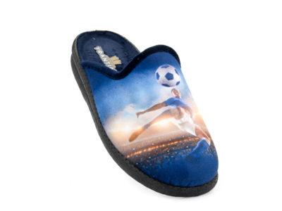 Εφηβικές χειμερινές παντόφλες ΥΦΑΝΤΙΔΗΣ 4624. 825 BLUE