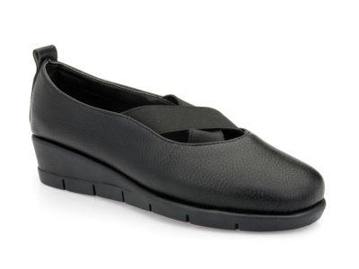 Γυναικεία ανατομικά παπούτσια PAREX 10418001 BLACK