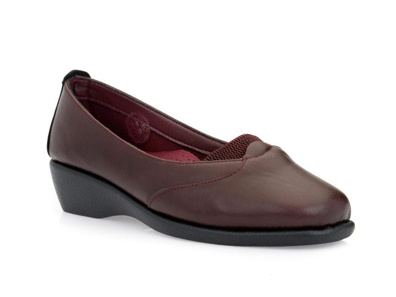 Γυναικεία ανατομικά παπούτσια PAREX 10420000 BORDEAU