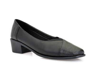 Γυναικεία ανατομικά παπούτσια PAREX 10622000 BLACK