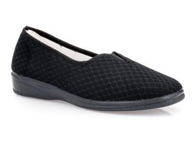 Γυναικεία υφασμάτινα καλοκαιρινά παπούτσια ALCALDE 880 BLACK