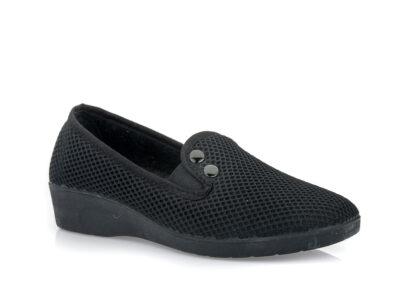 Γυναικεία υφασμάτινα καλοκαιρινά παπούτσια MEDIES C 22/28-1 BLACK