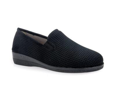 Γυναικεία υφασμάτινα καλοκαιρινά παπούτσια ΥΦΑΝΤΙΔΗΣ 11806 BLACK
