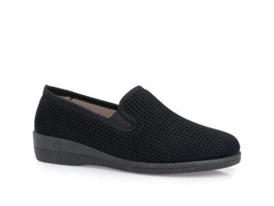 Γυναικεία υφασμάτινα καλοκαιρινά παπούτσια ΥΦΑΝΤΙΔΗΣ 11806 NEGRO